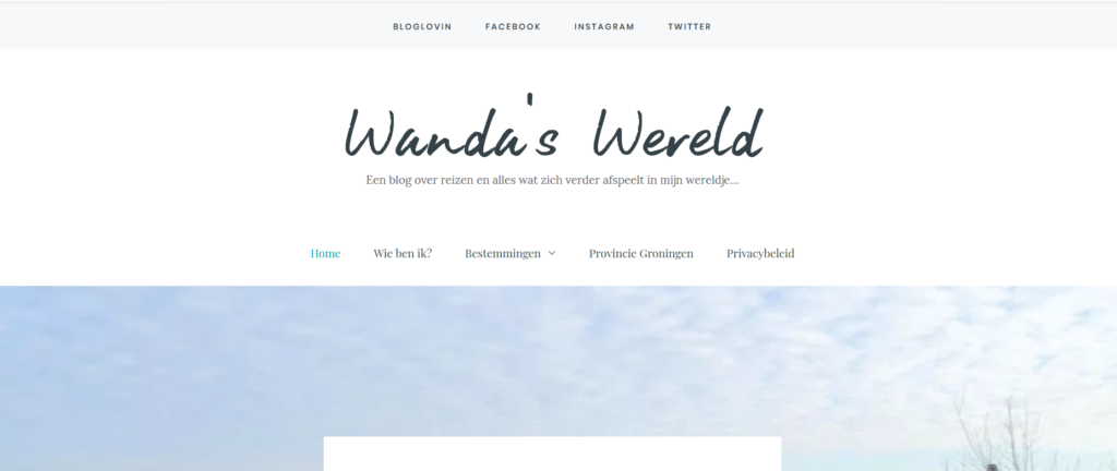 WWereld-pagina