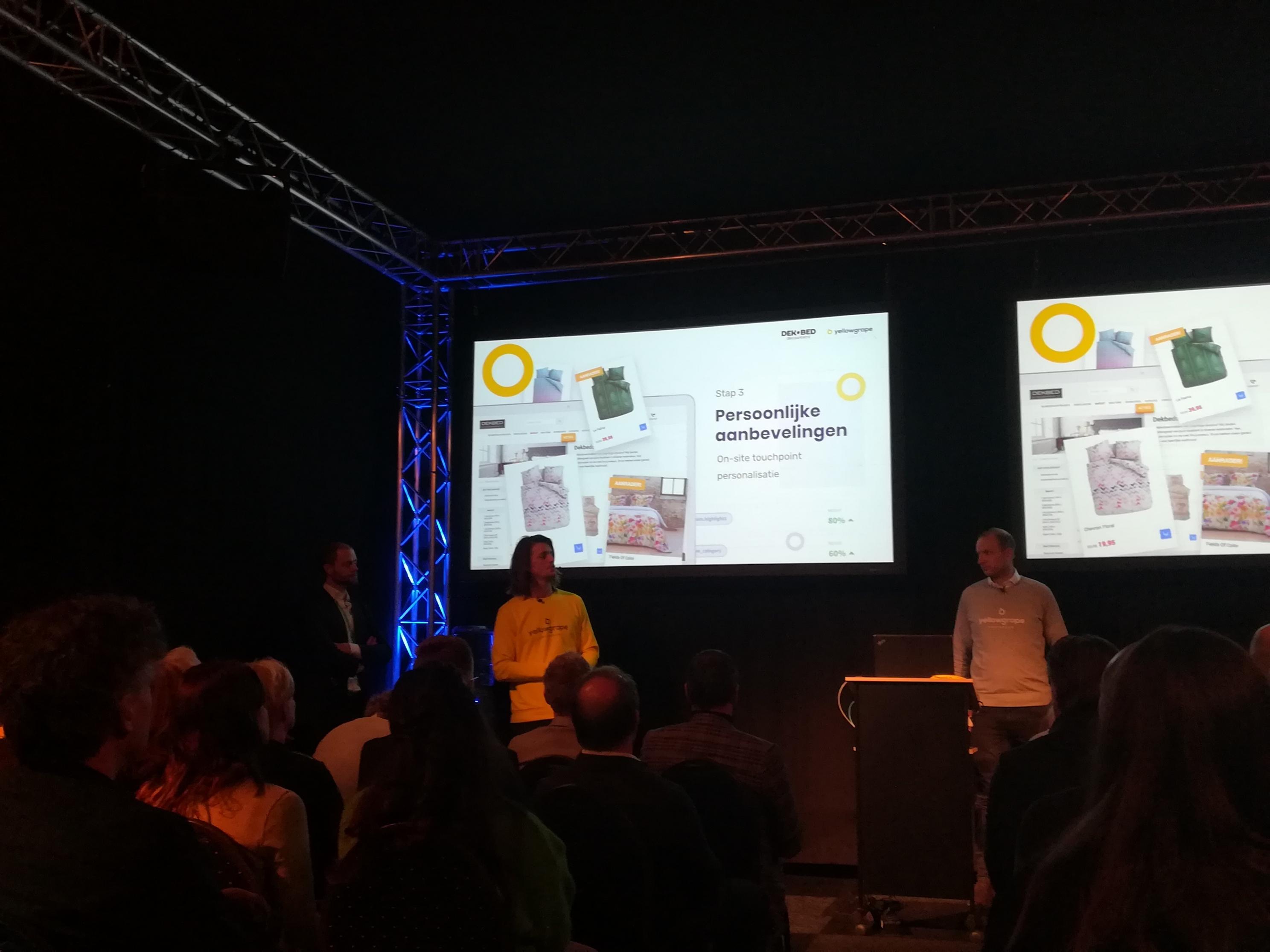 Webwinkel Vakdagen - Lezing Yellowgrape