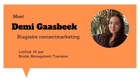Meet Demi Gaasbeek - Blogs4Travel.nl