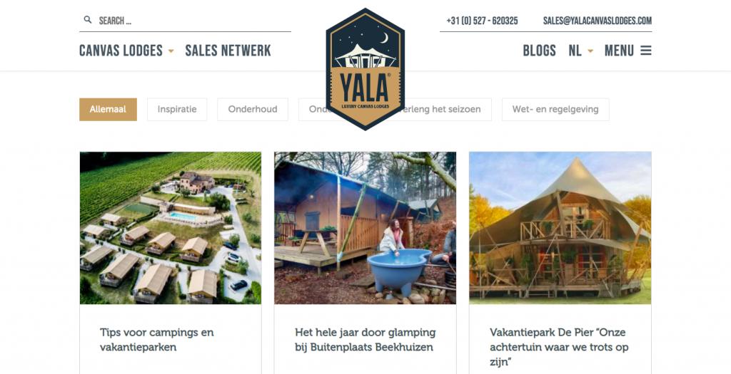 YALA blogpagina